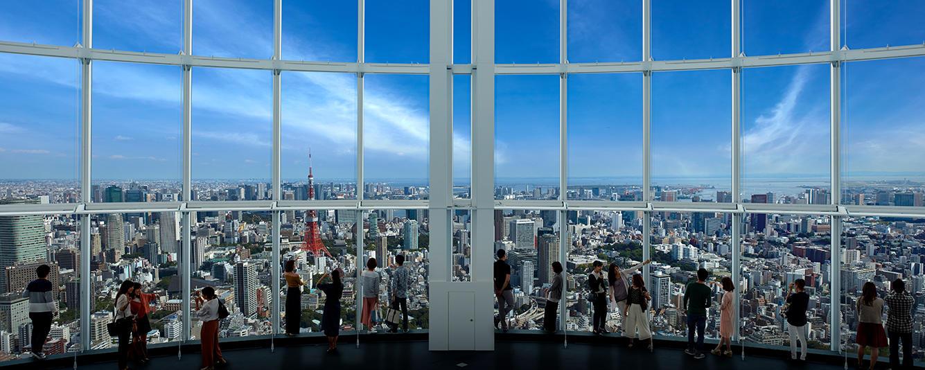 roppongi hills observation deck tokyo